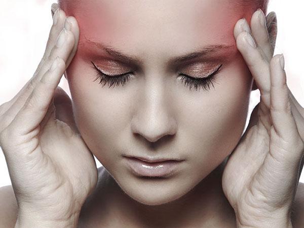 Массаж головы когда болят виски