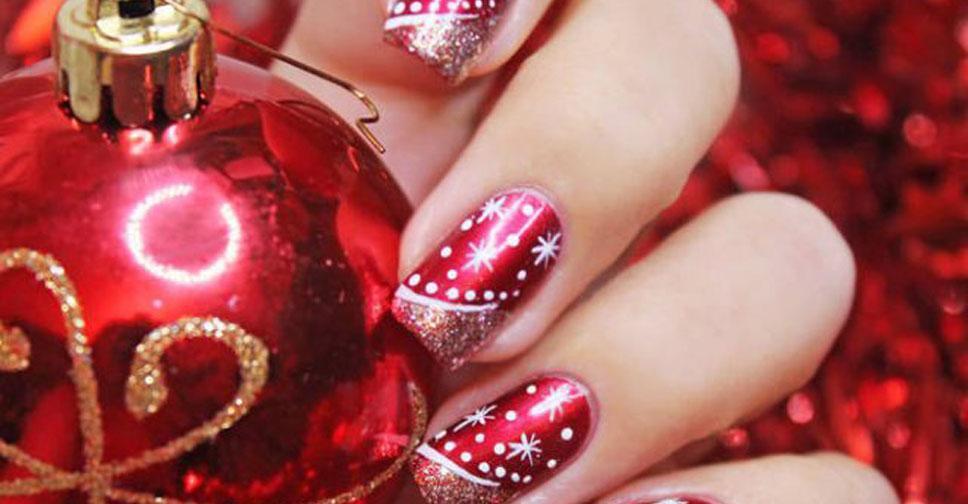 гелевое покрытие на свои ногти фото новогодние инструкция как нанести
