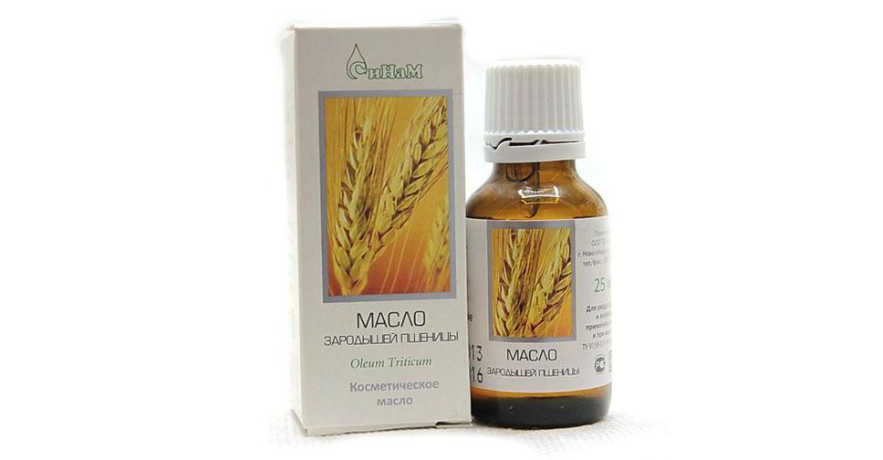 Масло зародышей пшеницы против морщин