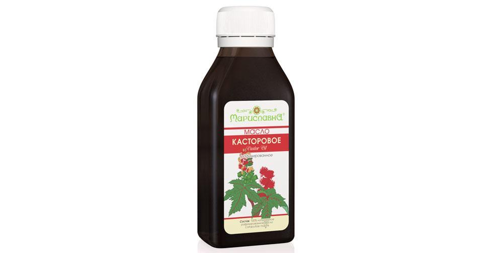 Рициновое масло применение