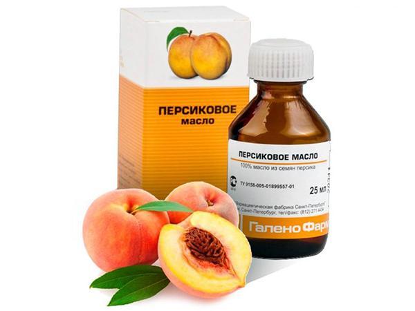Персиковое масло для глаз