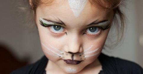 ТОП-10 идей макияжа на Хэллоуин для детей