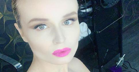 Полину Гагарину раскритиковали за необычный макияж